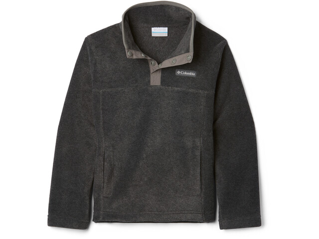 Columbia Steens Mountain Pull Polaire Snap 1/4 Enfant, charcoal heather